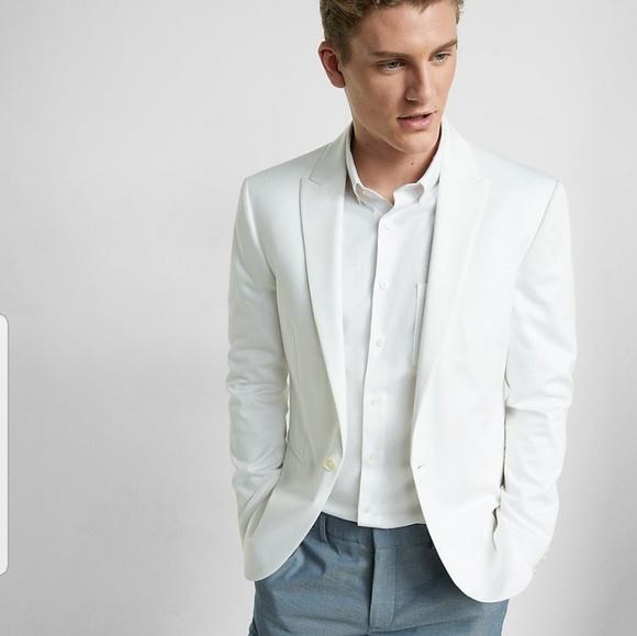 c1698b156c45b Mens white sports coat